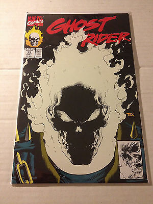 Ghost Rider # 15 - Marvel Comics 1991 - glow in the dark cover