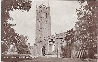 The Church & Vicarage, CHEDDAR, Somerset