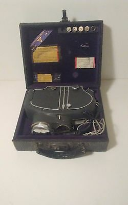 CAMERON SURGICAL CAMERA with fitted case with accessories  vintage