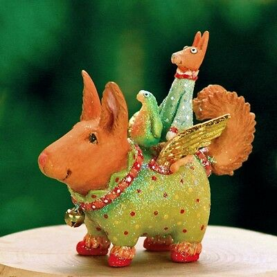 Patience Brewster Terrier Carrier Ornament