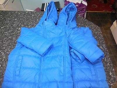 2 x Boys Age 5 Winter Jackets / by Charlie and Me / Blue /Fatastic condition