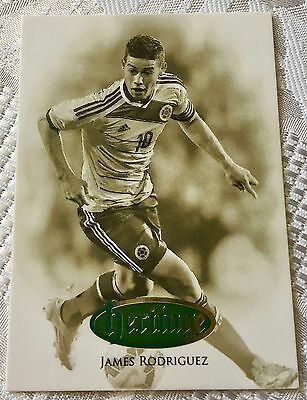 2016 Futera Unique - Heritage - James Rodriguez - Colombia - #13 of 50