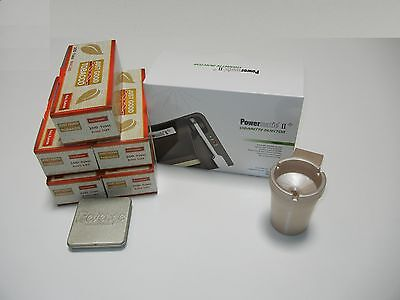 POWERMATIC 2+ ELECTRIC CIGARETTE ROLLING MACHINE+5 FF Tubes,ashtray,watch&more