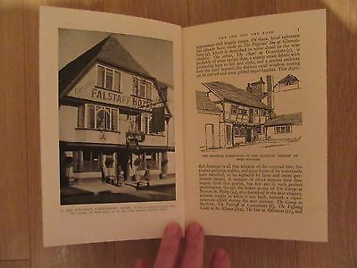The Old Inns of England - A. E. Richardson 1934 First Edition