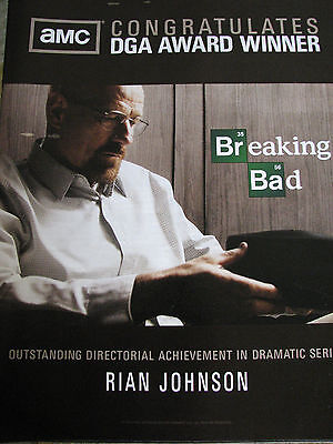 Breaking Bad Bryan Cranston holding hat  Trade   EMMY AD