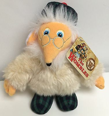 "The Wombles Great Uncle Bulgaria Soft Toy Teddy Plush With Tags Approx 8 "" Tall"