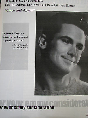 Once and Again Billy Campbell as Rick  Emmy AD RARE b