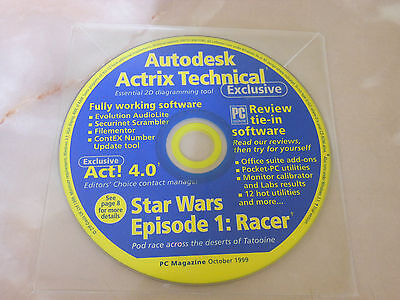 PC Magazine CD-ROM - October 1999 - Autodesk Actrix Technical Software