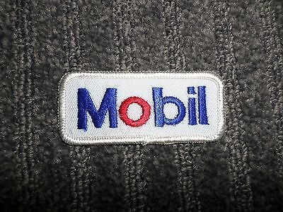 Mobil Patch - New - Original - 3 1/8 inches x 1 3/8 inches