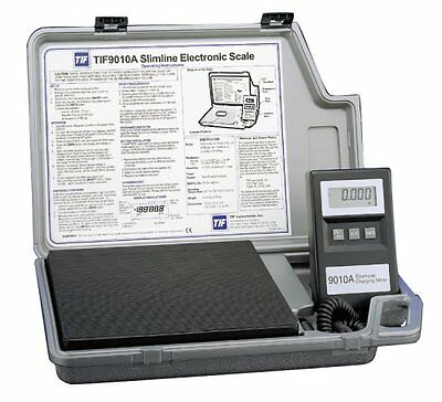 Robinair TIF9010A Slimline Refrigerant Electronic Charging/Recover Scale - NEW