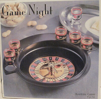 Game Night Roulette & Drinking Game