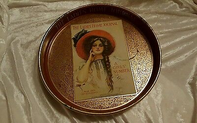 THE LADIES HOME JOURNAL Tray 1909 A GIRL'S NUMBER