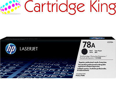 Original HP 78A Black LaserJet Toner Cartridge