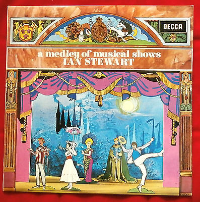 Excellent Vinyl LP - A MEDLEY OF MUSICAL SHOWS - Ian Stewart & His Piano - DECCA