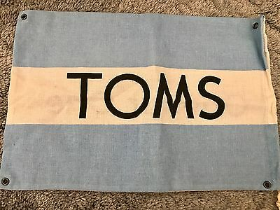 TOMS Canvas Dust Cover Bag / Flag