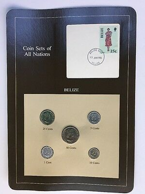 Coin Sets of All Nations - Belize 1979-1983