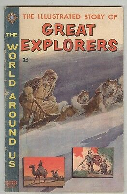 World Around Us #23 VG July 1960 Great Explorers – Crandall, Evans