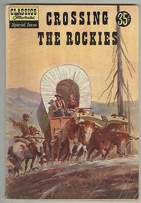 Classics Illustrated Special Issue #147A G/VG Crossing the Rockies