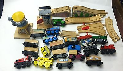 Lot of Thomas the Tank Engine Train Wooden Wood Train Lot