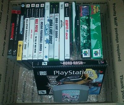 Lot of 23 Random Video games! N64, Xbox, Ps2, ps1, gamecube,wii!