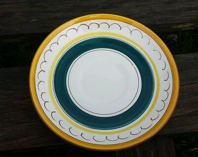 Stangl FRUIT pattern plate saucer mid century modern Replacement vintage