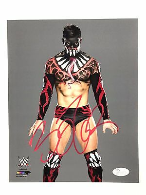 WWE Finn Balor Autograph 8x10 Photo NXT Signed Picture JSA COA Wrestlemania Z6