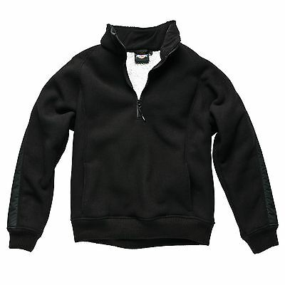 Dickies Eisenhower Polyester Fleece Pullover In Black - XX-Large (XXL)