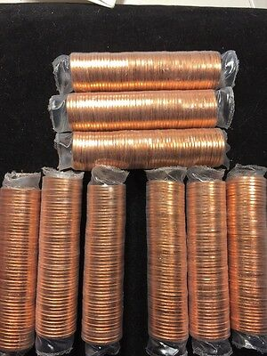 2010 P Lincoln Union Shield Penny 3 Bu Rolls 50 Cent Dollar Ms Unc Mint Us Coin