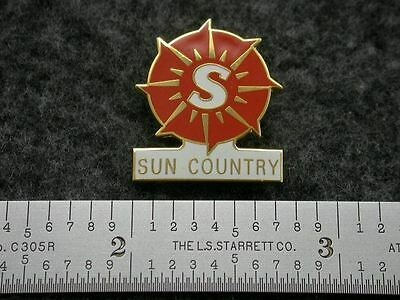 Sun Country Airlines Logo Pin
