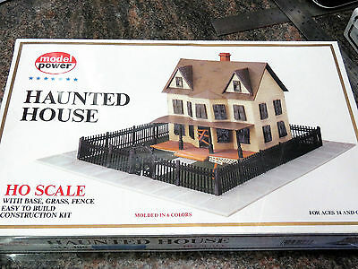MODEL POWER HO scale model kit HAUNTED HOUSE #486 New in box