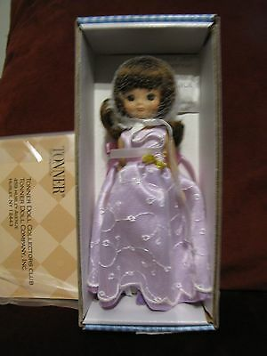 "Betsy McCall 8"" Purple Gown Doll"
