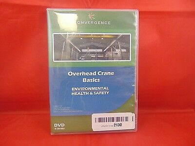 Convergence C-432 Overhead Crane Basics Training Program Dvd, 20 Minutes Time