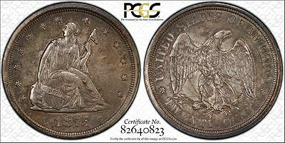 1875-S Twenty Cent PCGS AU 58  ~CPPM~  Buy Now