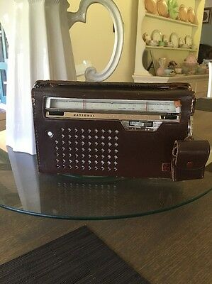Vintage National Super Sensitive Radio Transistor