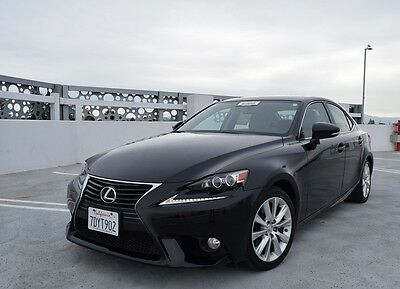 2014 Lexus IS 350 2014 Fully Loaded IS 350 1 Owner 15K Miles Clean Carfax