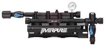 EVERPURE EV9272-23 Filter Head Assembly, Triple, 3/4 In