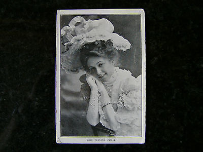 """Vintage Postcard """"miss Pauline Chase"""" Actress"""
