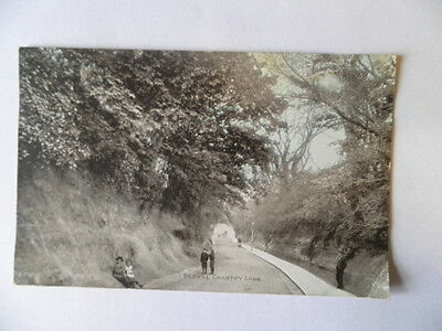 Antique Postcard Bexhill Chantry Lane Post Date 1904