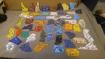 USA 50 States Fridge Refridgerator Complete Set lot of Magnets travel souvenir