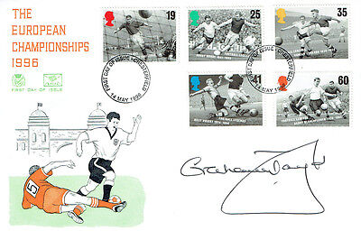 Graham TAYLOR Signed Autograph First Day Cover England Manager FDC COA AFTAL