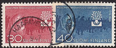 Finland 1960 World Refugee Year Set Used