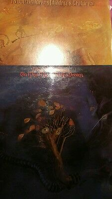 vinyl records moody blues x 2