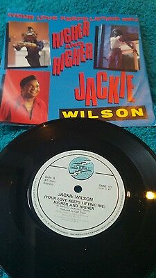 """Jackie Wilson 7"""" Higher And Higher / Who Who Song Skm 10"""