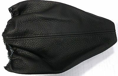Universal Gear Shift Gaiter Boot Cover Leather Black Thread New
