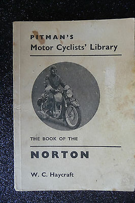 """The Book of the """" NORTON """"  1955 to 1962  PITMAN'S Library  1963 edition  RARE"""