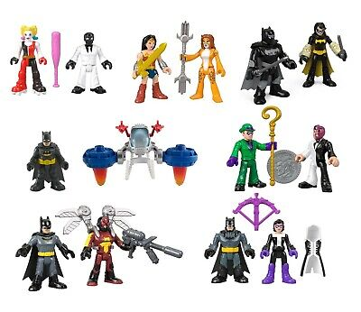 Fisher Price Imaginext DC Super Friends Figures - Superman Batman Red Robin NEW