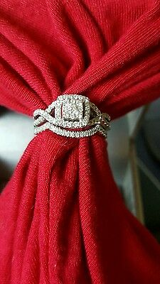 Diamond Engagement ring and Wedding set