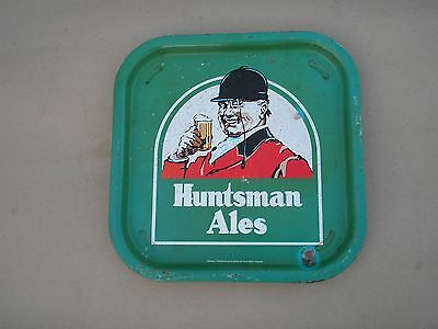 Huntsman Ales Eldridge Pope Brewery Dorchester Dorset Vintage Metal  Beer Tray