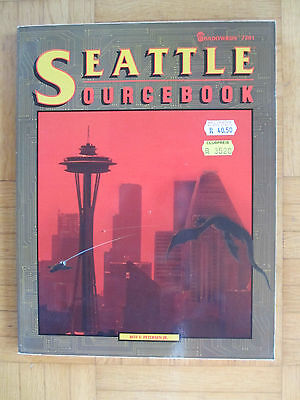 SHADOWRUN – SEATTLE sourcebook - FASA 7201 – English - SR FRPG Rolebook guide