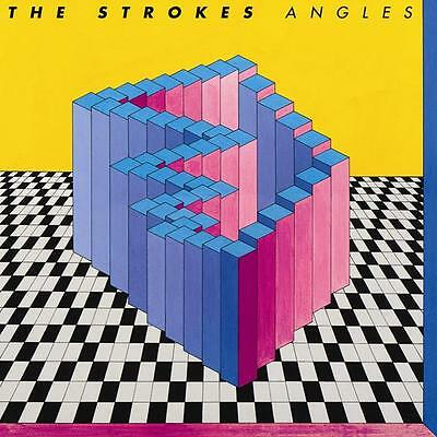 """The Strokes """"angles"""" Indie Pop Rock Cd"""